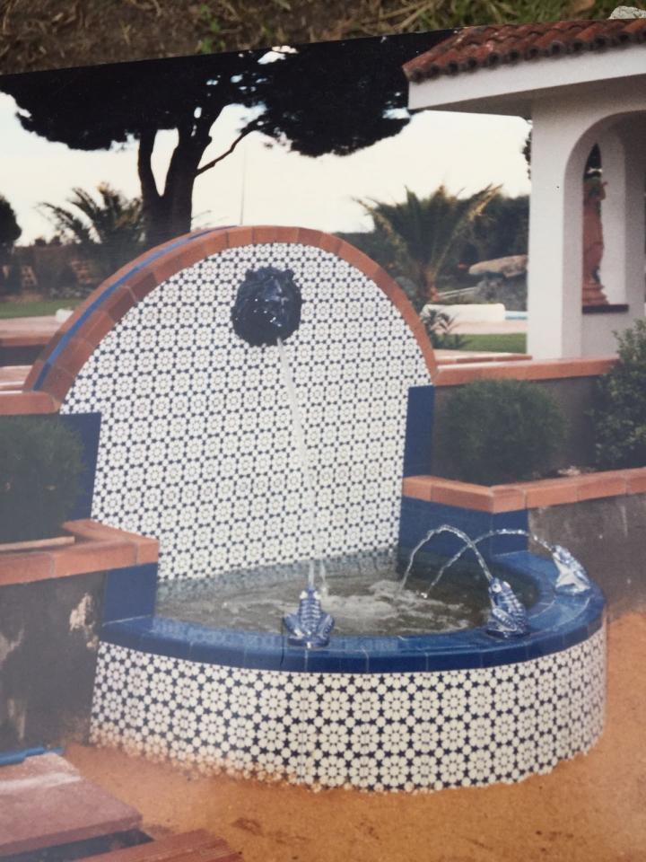 construccion de fuentes de agua para jardin